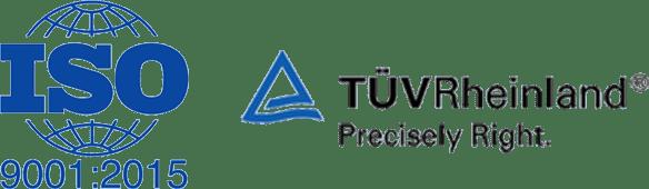 ISO TUVRheinland marka Logo
