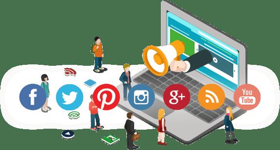 Sosyal Medya Platform Logoları Sergileniyor