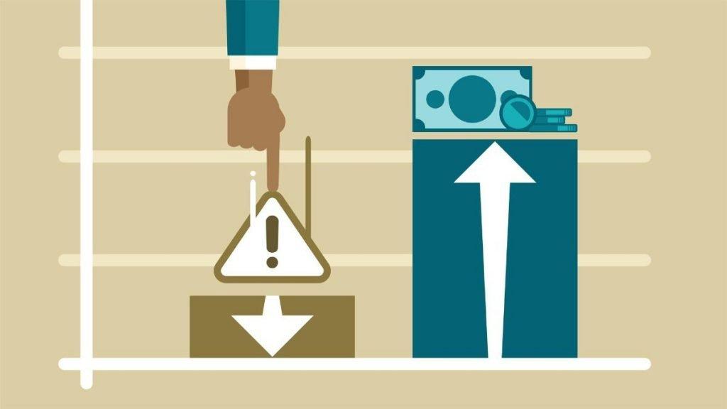 Finansal Risk Yönetiminde Paranın Artışını Gösteriyor